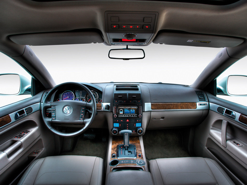 салон ABT Volkswagen Touareg.