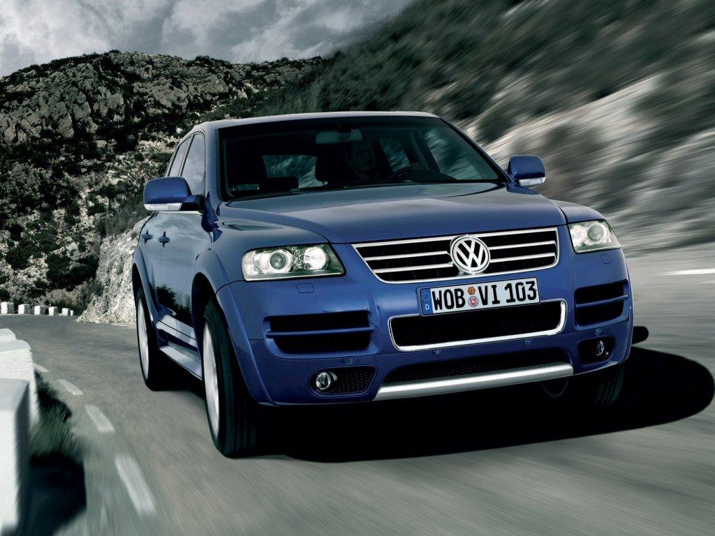 фото.  Volkswagen Touareg.  …