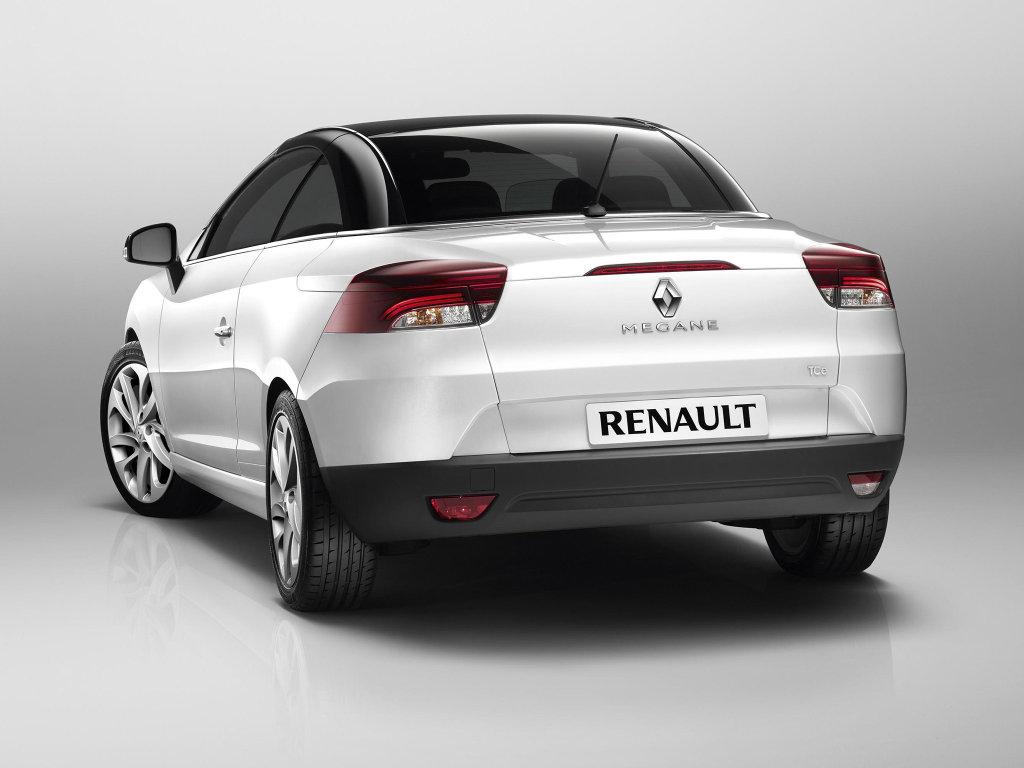 Renault Megane CC представлен официа…