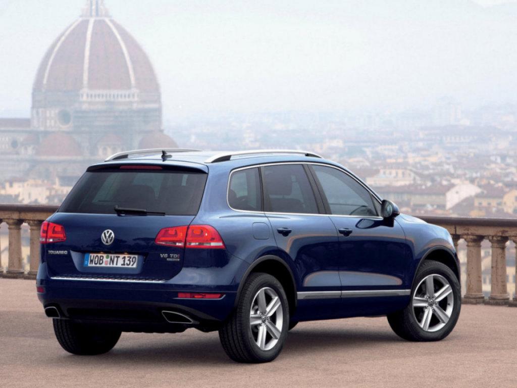 Volkswagen Touareg Внедорожник 201…