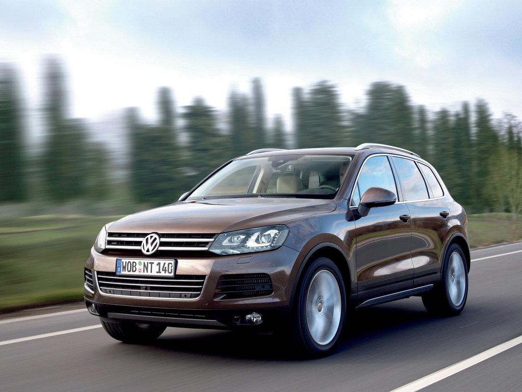 Фото Volkswagen Touareg 2010.