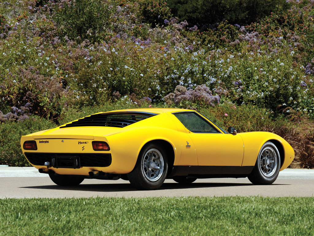 Обои желтая, Lamborghini, фото…