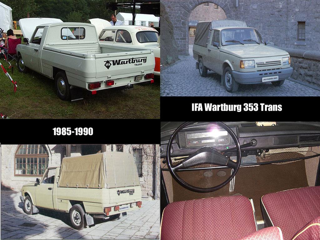 автомобилей Wartburg 353