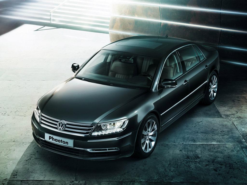 Фото Volkswagen Phaeton.