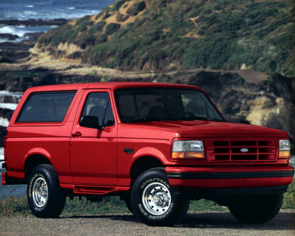 обои Ford Bronco на фоне природы…