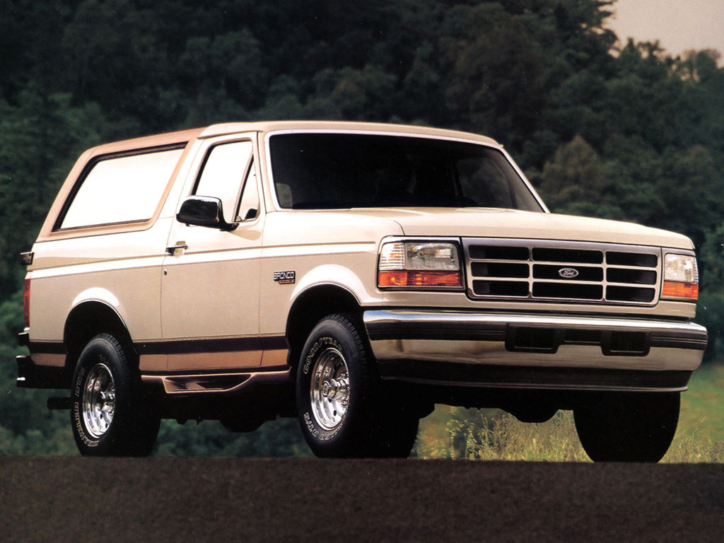 Автомобиль Ford Bronco 5.0 EFl V…