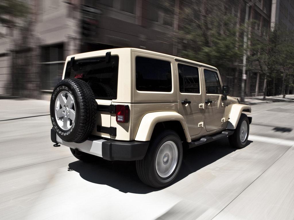 Jeep Wrangler 2012 года получит …