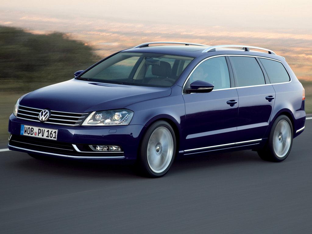 Фотографии Volkswagen Passat Variant…