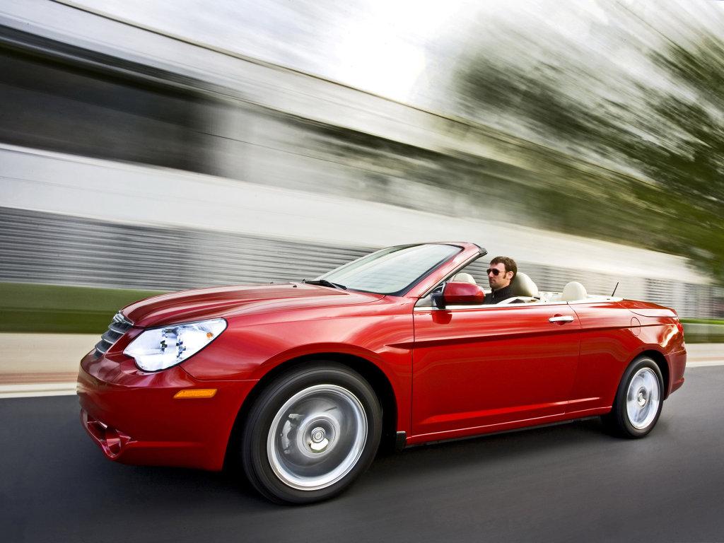 Chrysler Sebring Cabrio (на фо…