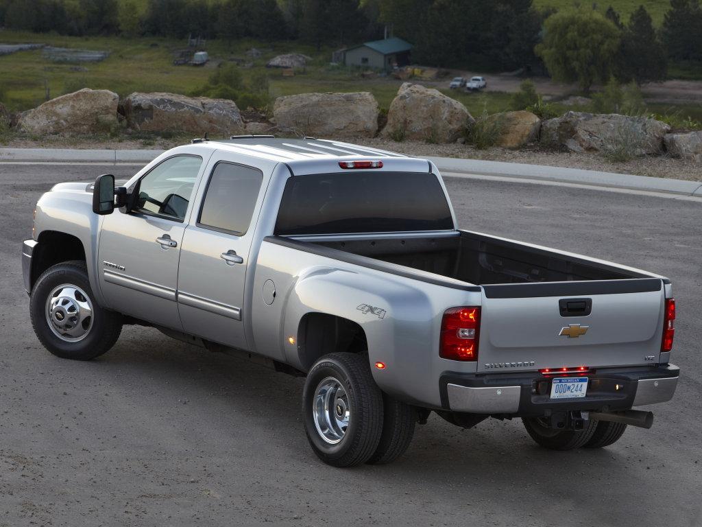 2012 Chevrolet Silverado HD.