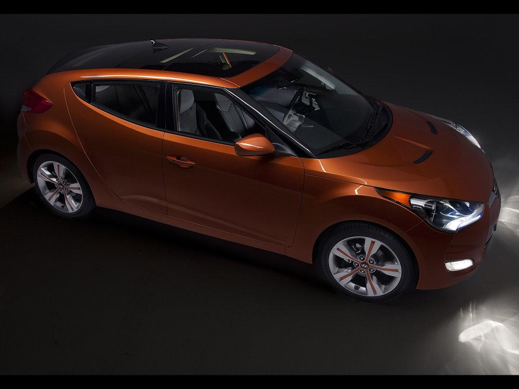 Фотогалерея Hyundai Veloster 2012…