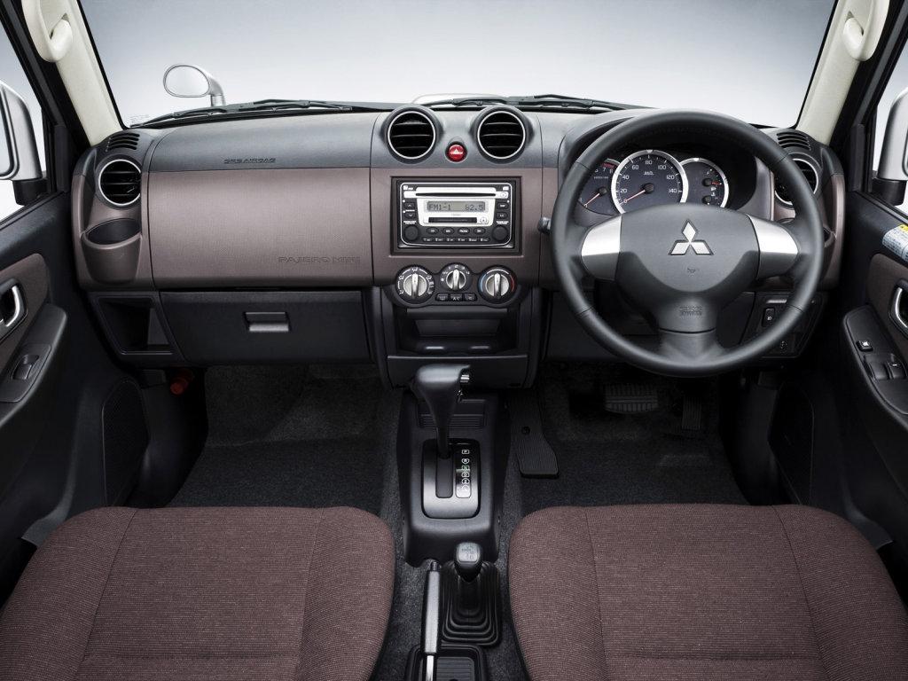 Mitsubishi обновила Pajero Mini.