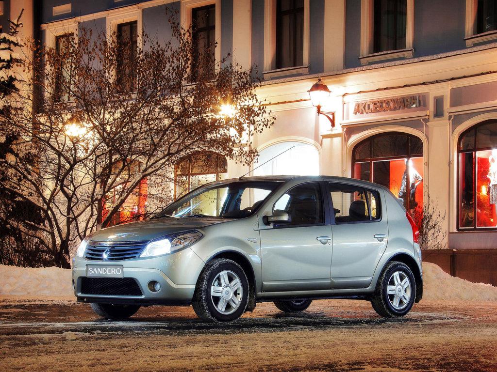 Фото Renault-Sandero-хэтчбек…