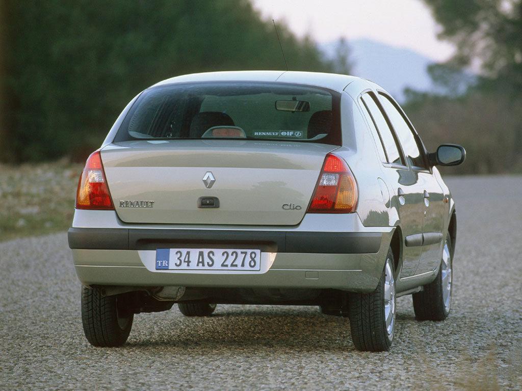 рено клио 2001