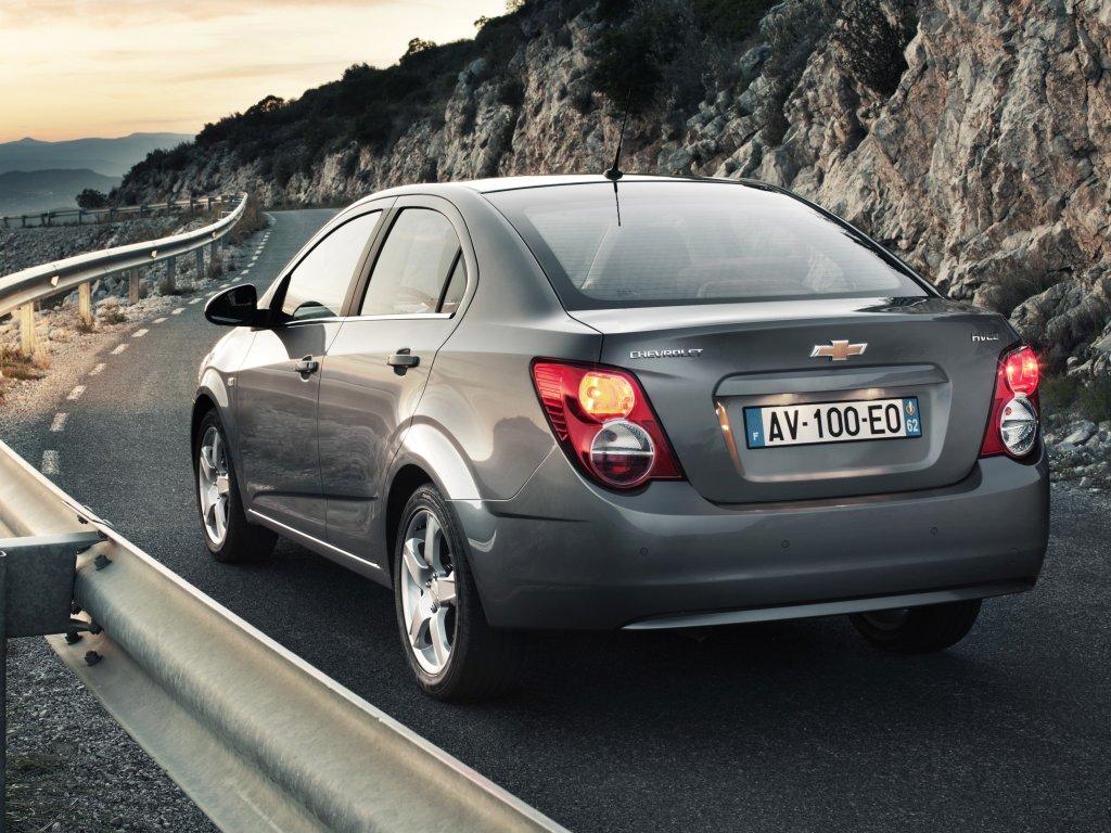 Фото Chevrolet Aveo Sedan 2011.