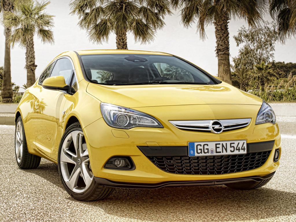 Соперники Opel Astra GTC.