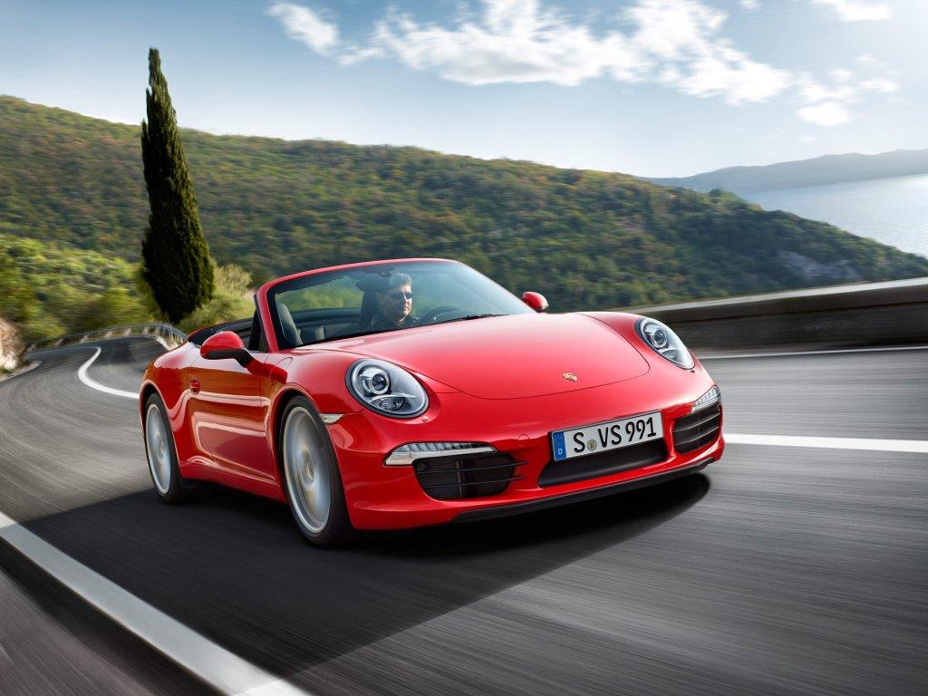 Цвета Porsche 911 Carrera Cabriole…