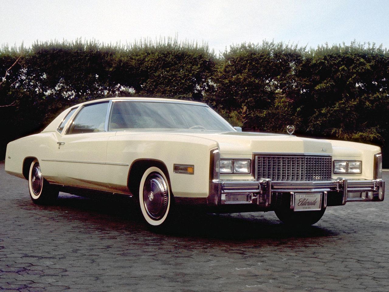 Cadillac eldorado 1972 год выпуска - оригинальная комплектация