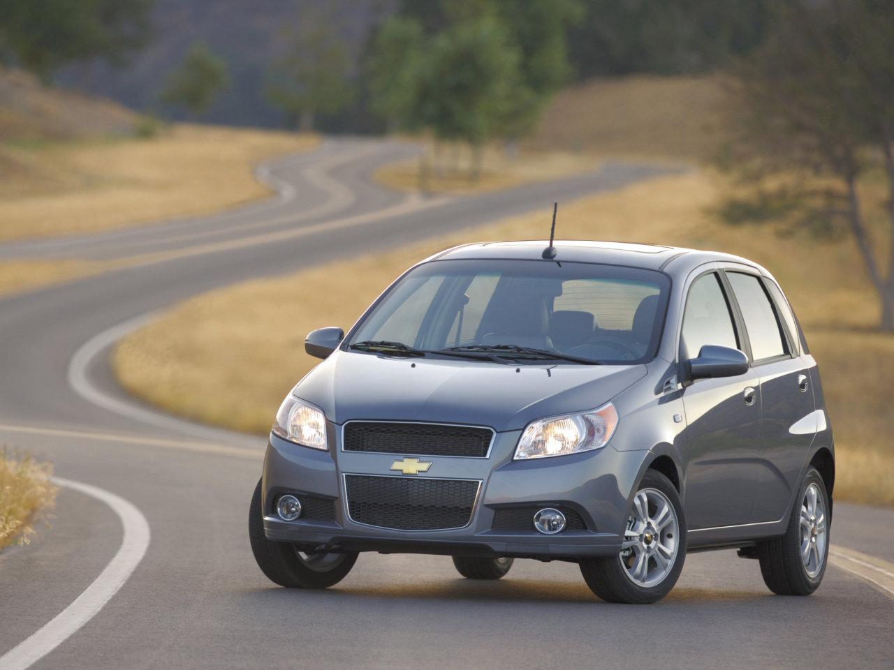 2011 Chevrolet Aveo Image.