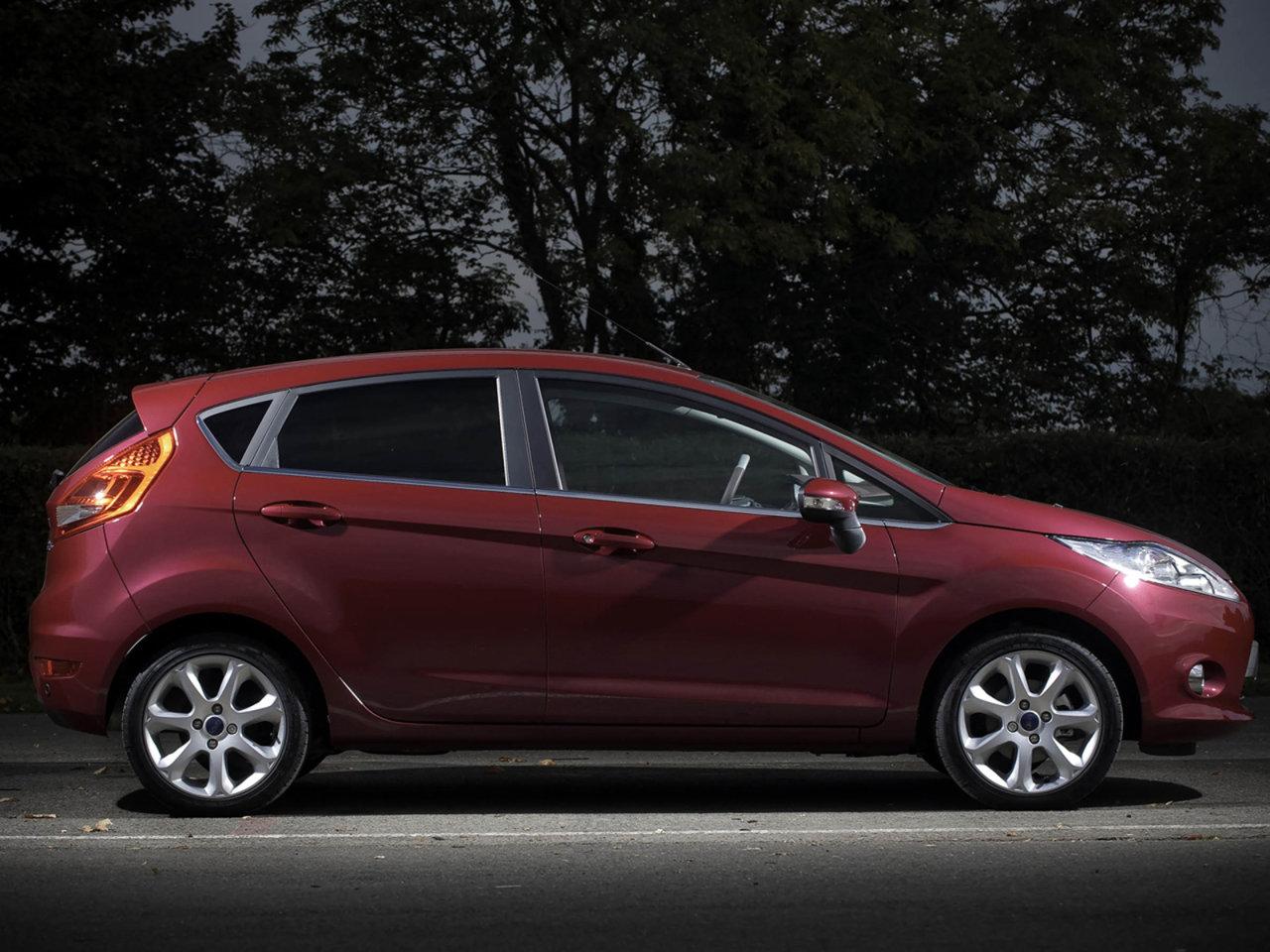 Фотографии автомобилей Ford Fiesta / Форд Фиеста (2008 ...