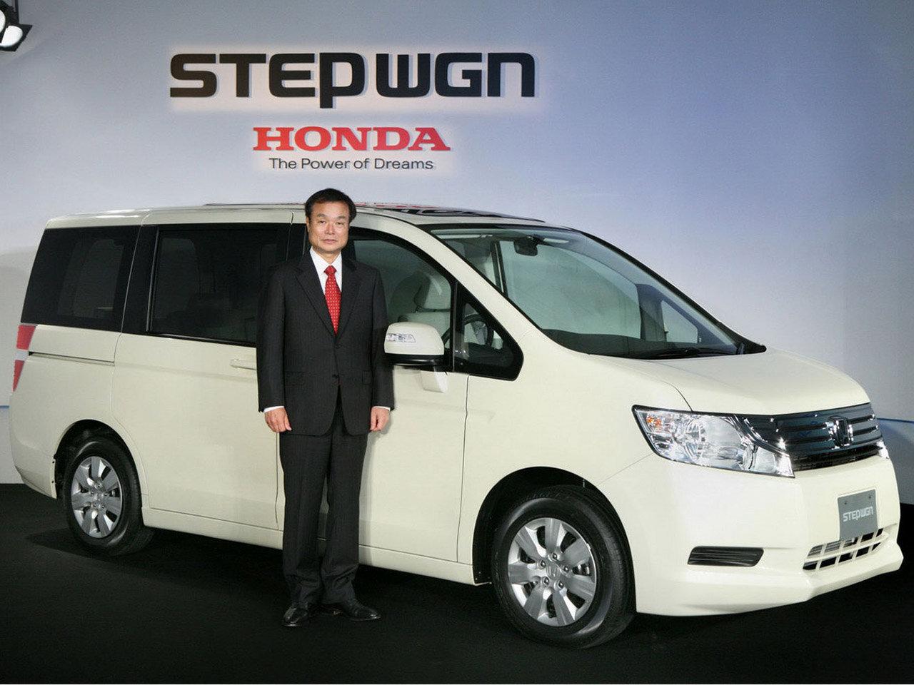 Хонда степвагон 2013 фото