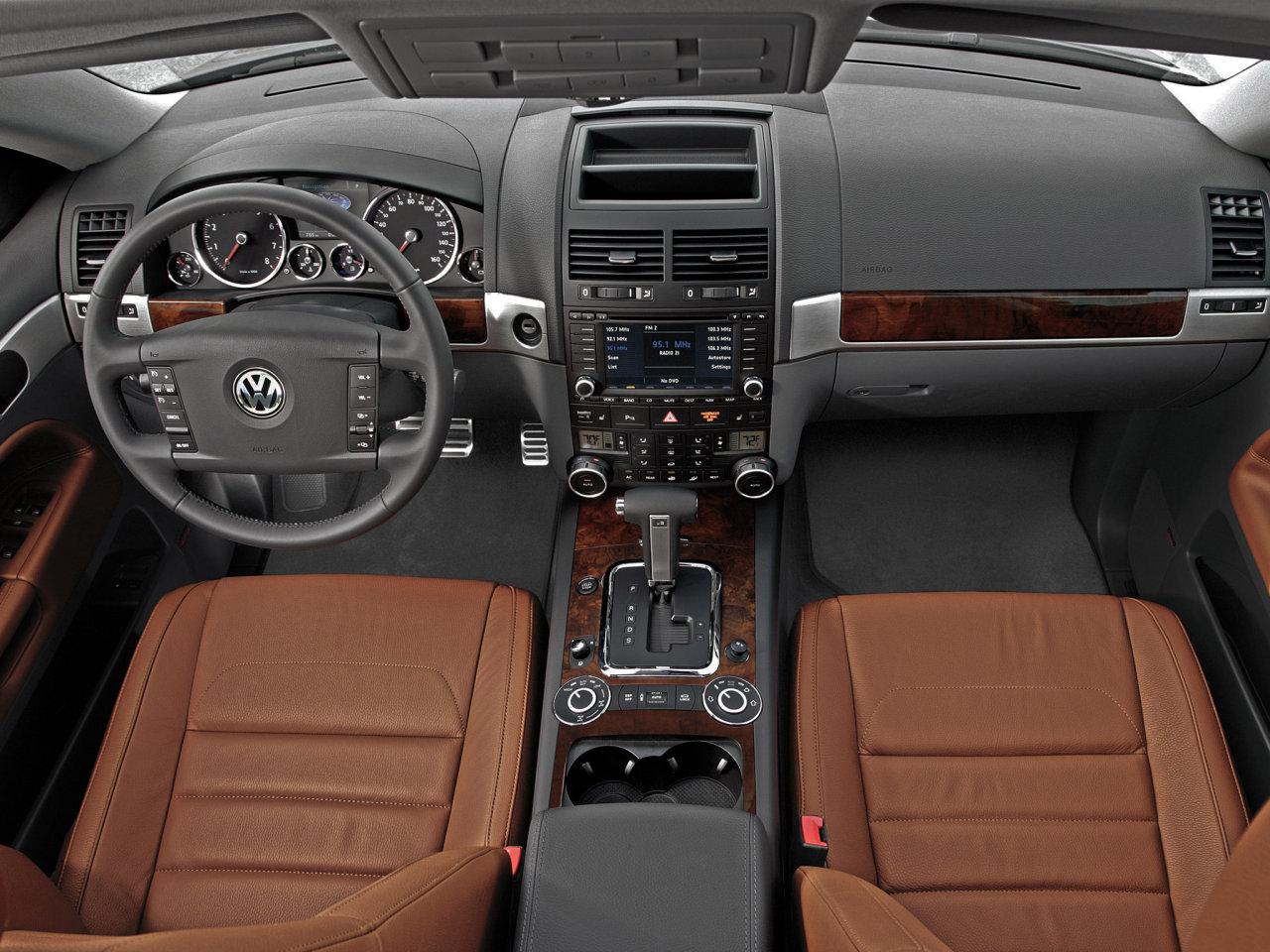 Interior Volkswagen Touareg V6 TDI C…