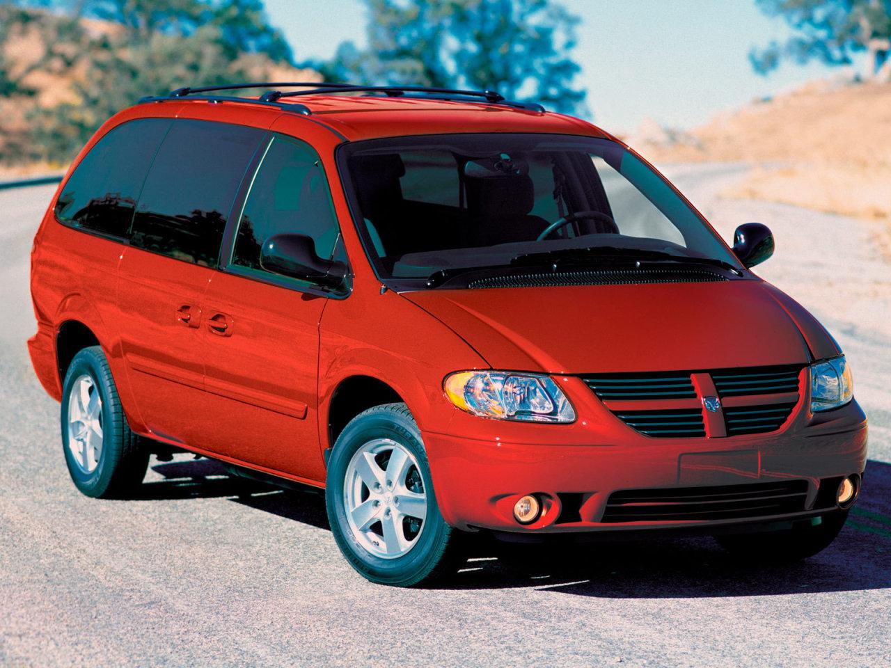 Dodge Caravan SXT.