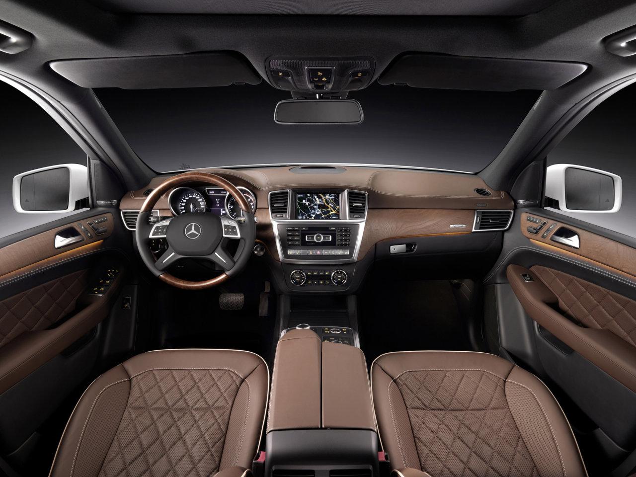 Фотографии автомобилей Mercedes ML-Class / Мерседес ML-Класс (2011 - 2012)