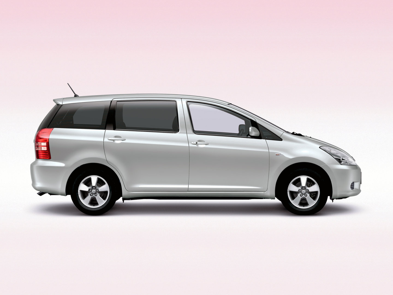 Toyota wish тойота виш 2003 2005 минивэн