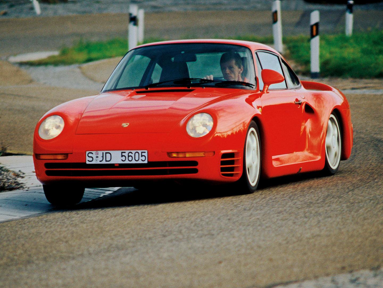 The basic motor was closer drive the historic porsche 959