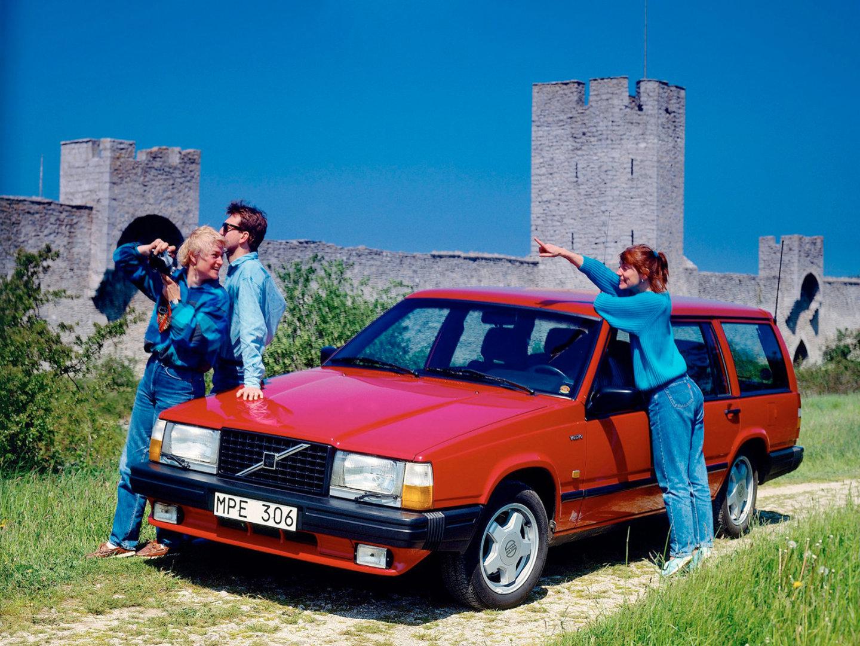 ... Volvo 740 Turbo Estate / Вольво 740 Turbo Estate (1985 - 1988
