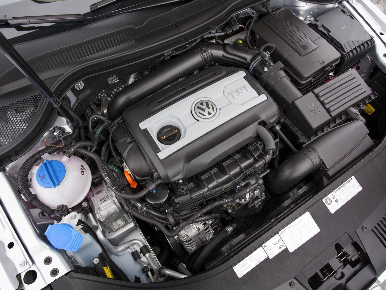 Двигатель на пассат в7