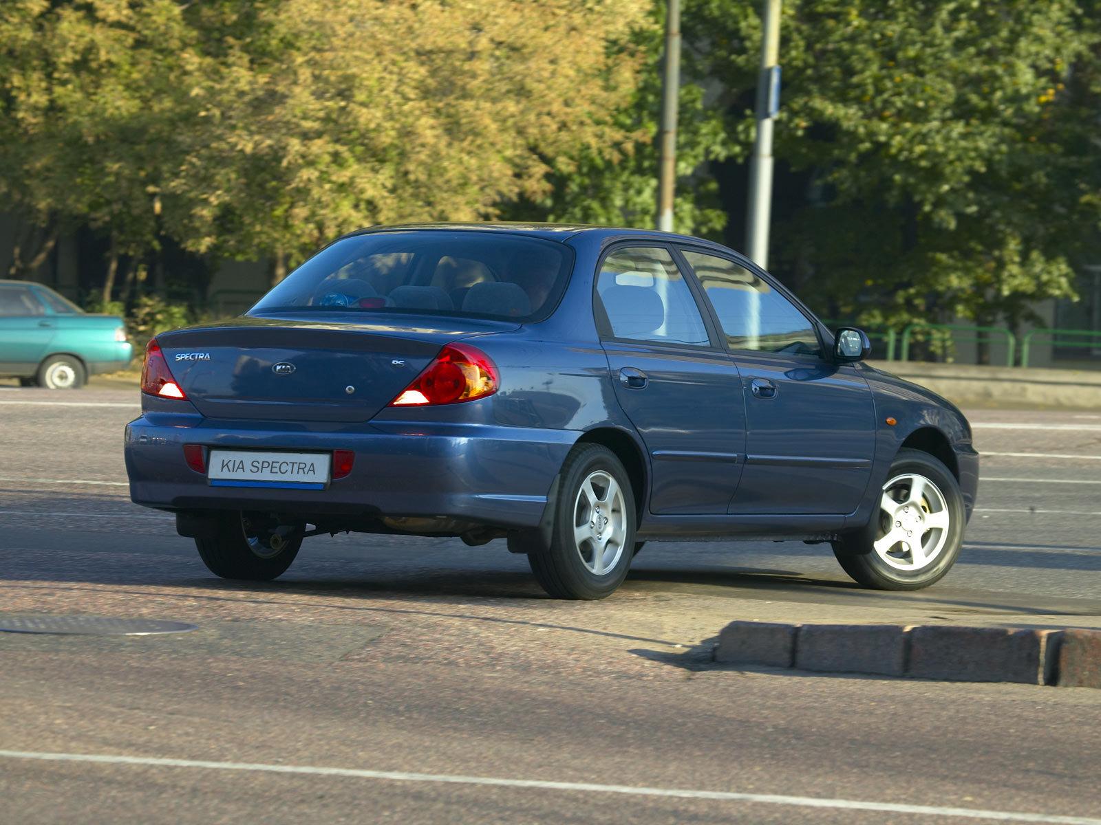 Характеристики автомобиля Kia Spectra Spectra, модификации 1.6 i 16V