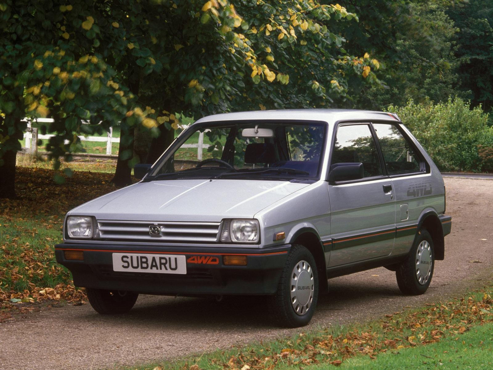 Фотографии автомобилей Subaru Justy / Субару Джасти (1984 - 1988 ...