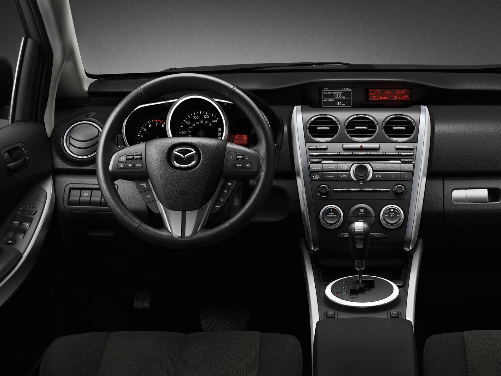 Компания Mazda представила обновленный кроссовер CX-7 (ФОТО) .