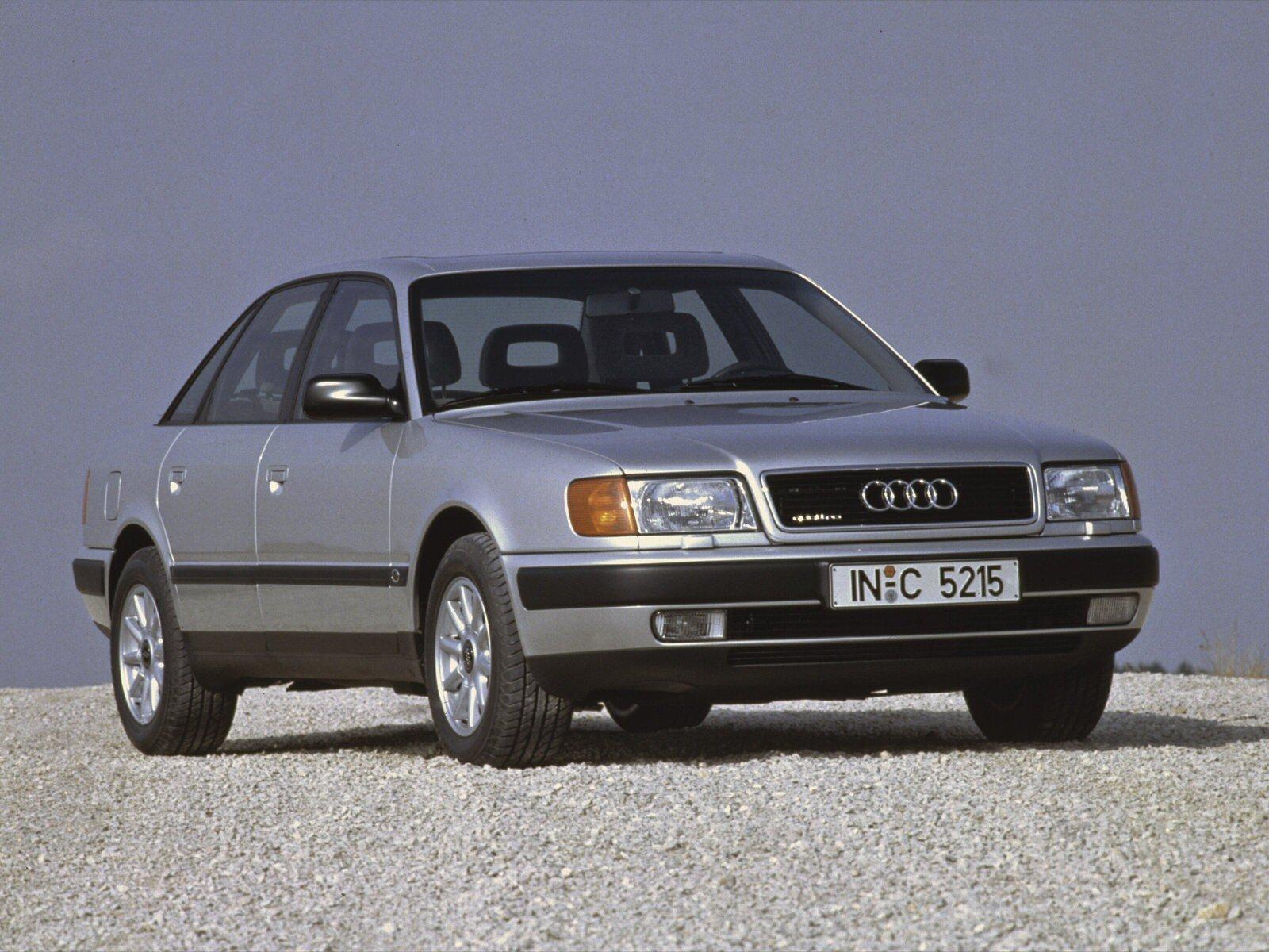 Ауди 100 рассматриваемого поколения дебютировала в 1990 году
