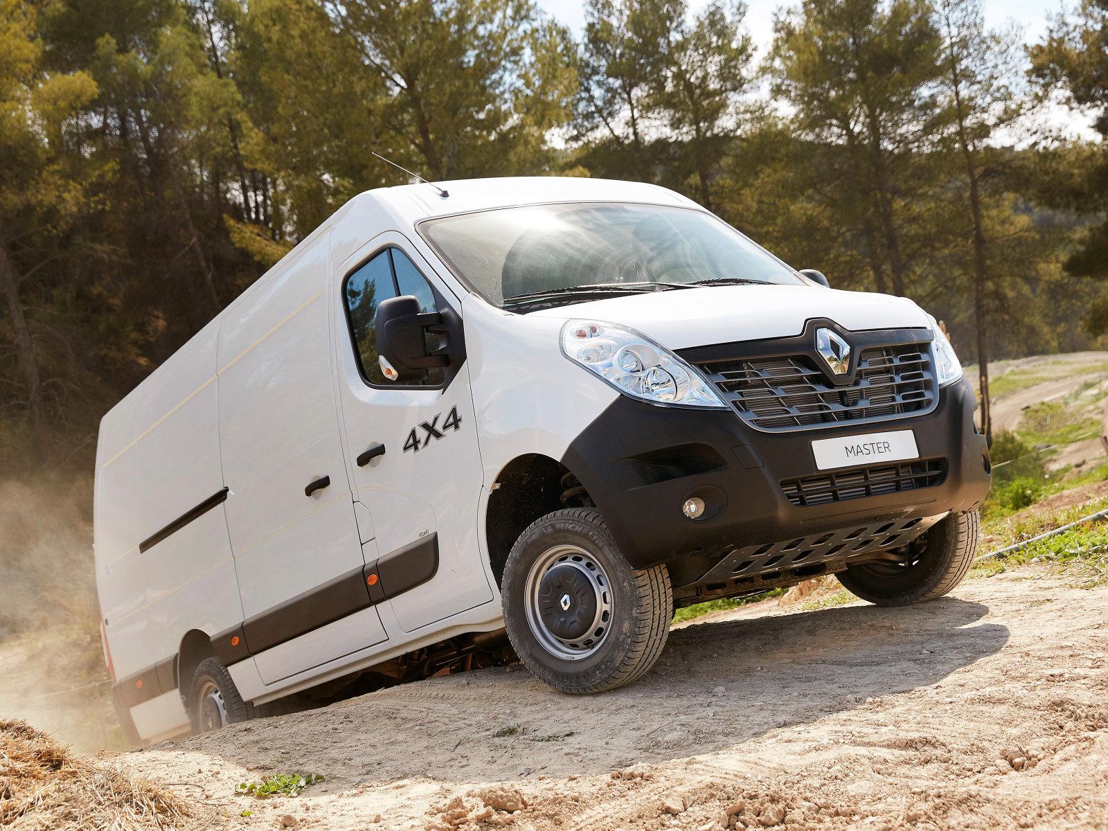 «Renault Master 4x4 L3H2 Van» — карточка пользователя ...