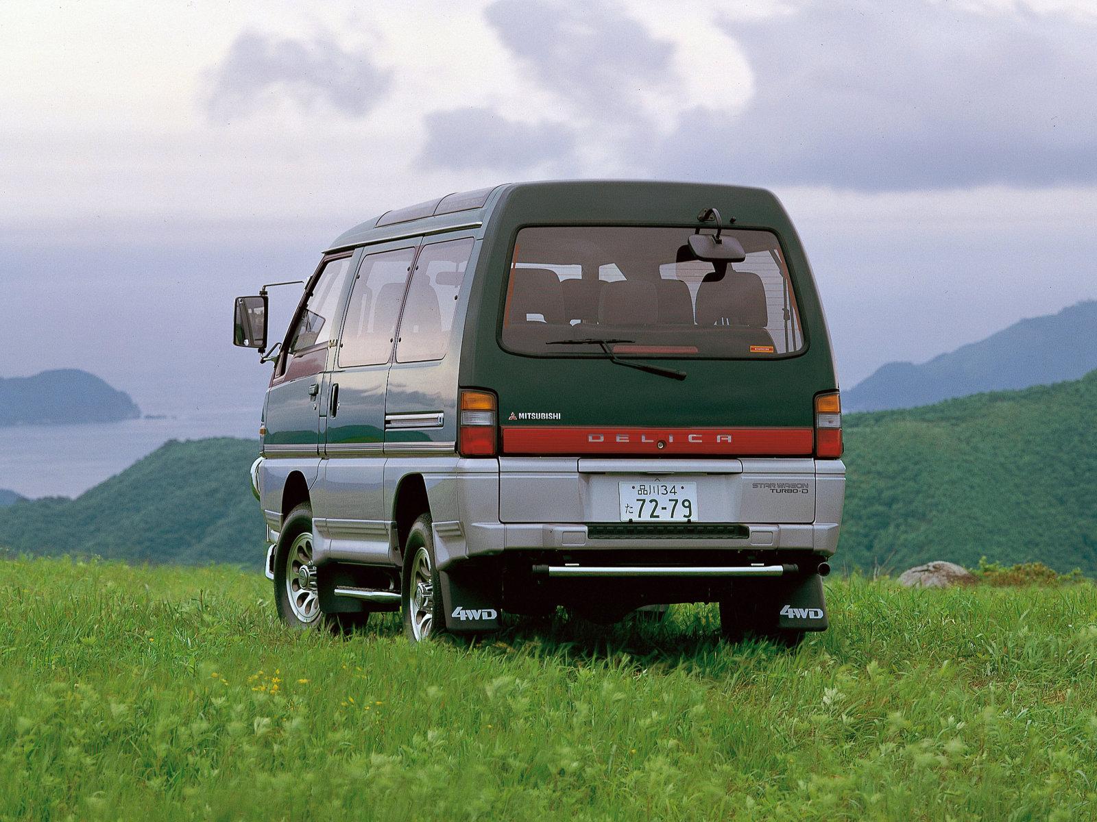 Delica , рамный микроавтобус, дизель, все блокировки, комфортабельный