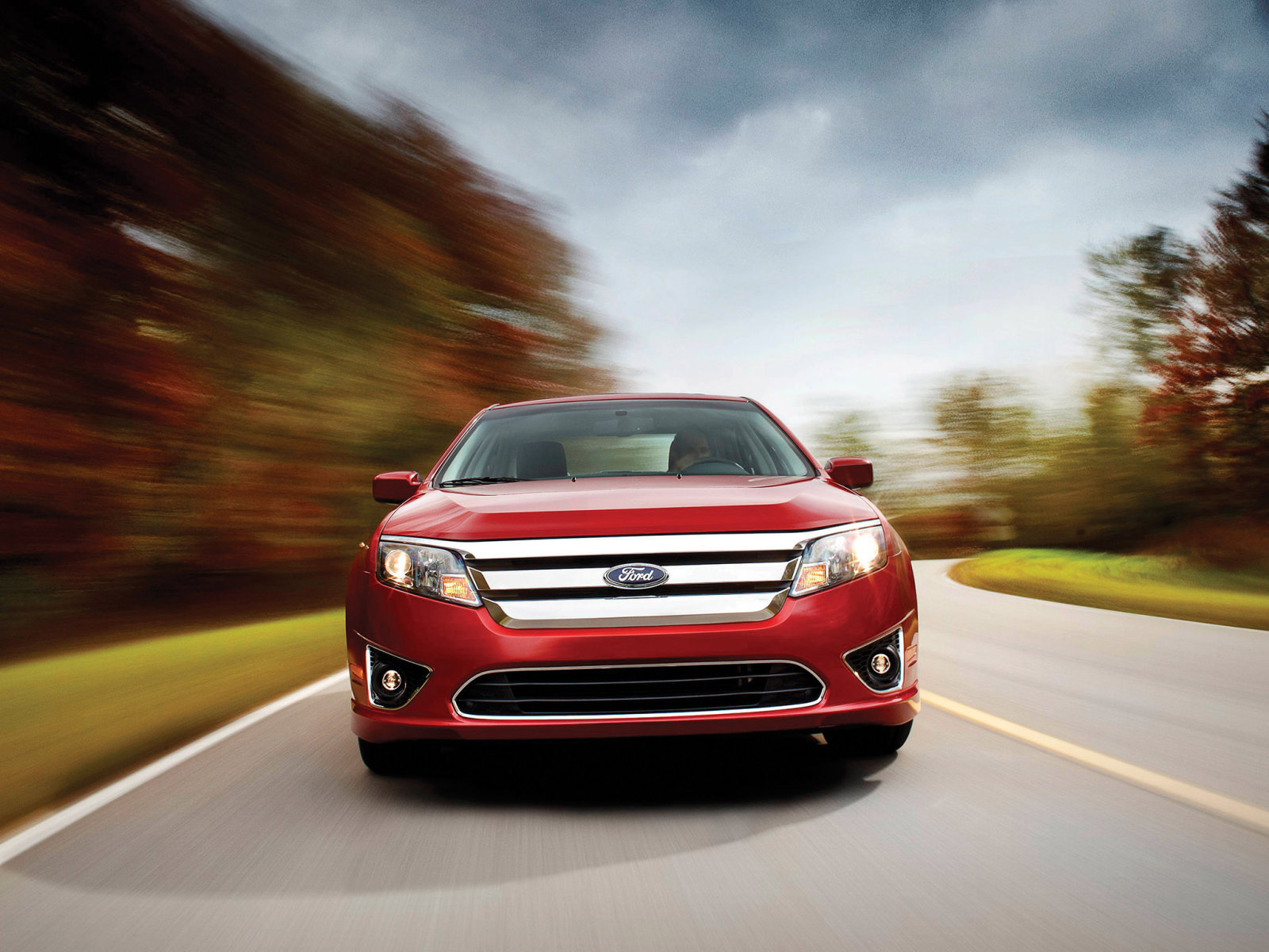 Ford fusion usa форд фьюжн usa 2009 2012 седан