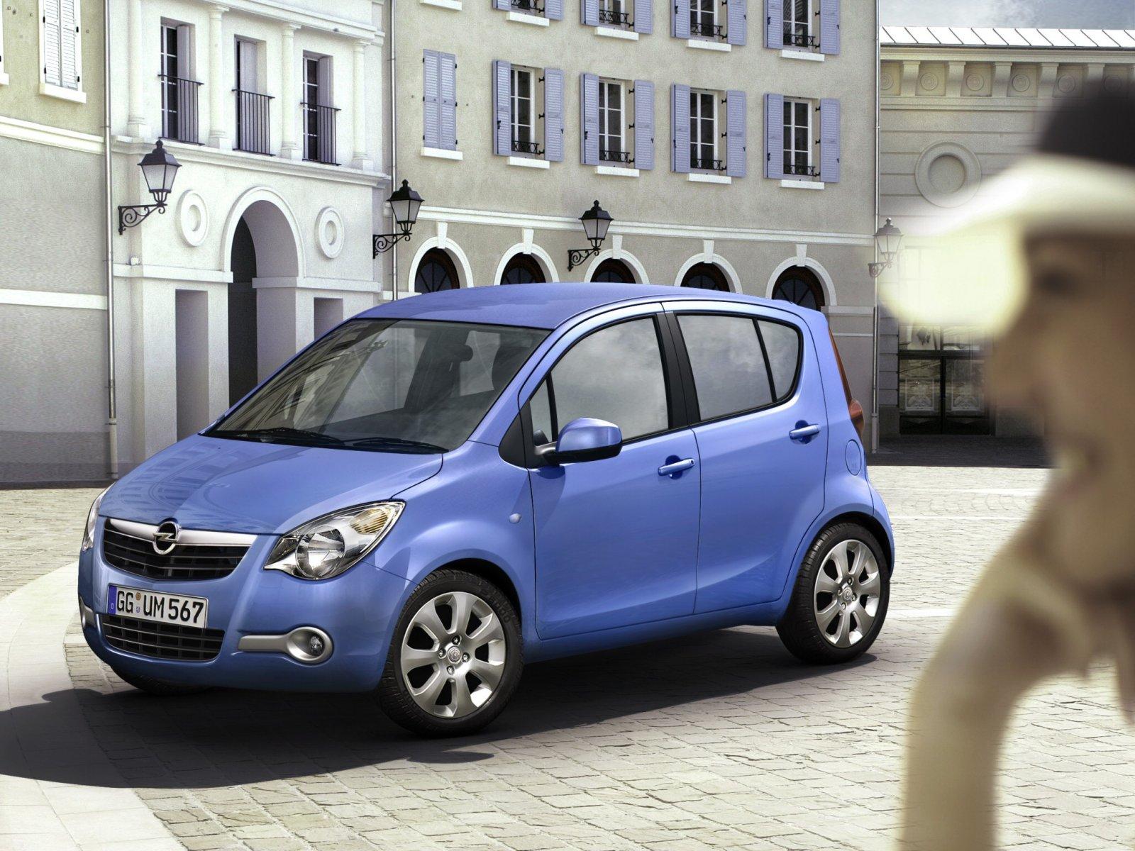 Фотографии автомобилей Opel Agila / Опель Агила (2008 - 2010) Минивэн / Фото, заставки и обои для рабочего стола c автомобилями