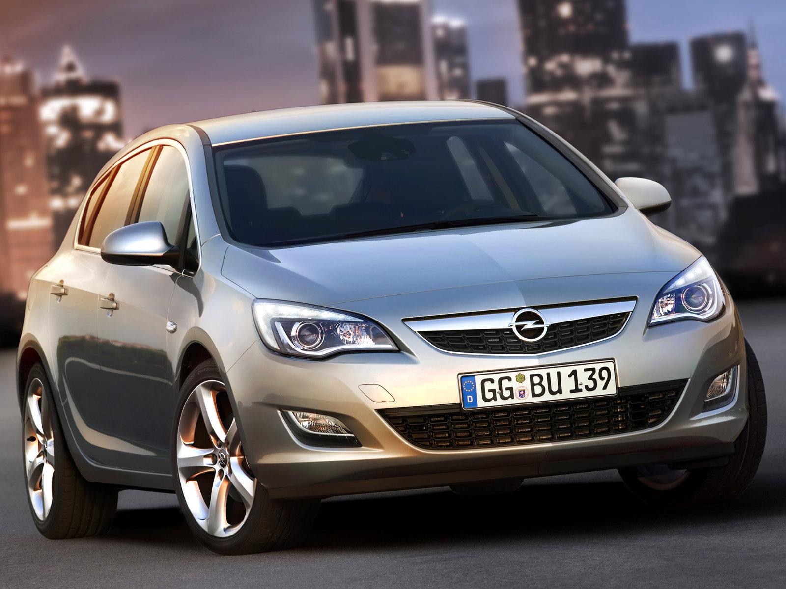 Фотографии автомобилей Opel Astra / Опель Астра (2010 - 2012