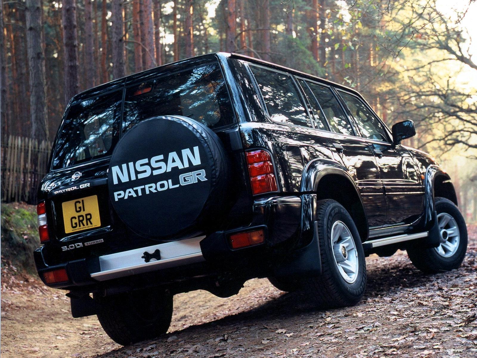 Nissan Patrol Y61 4 5 Технические Характеристики
