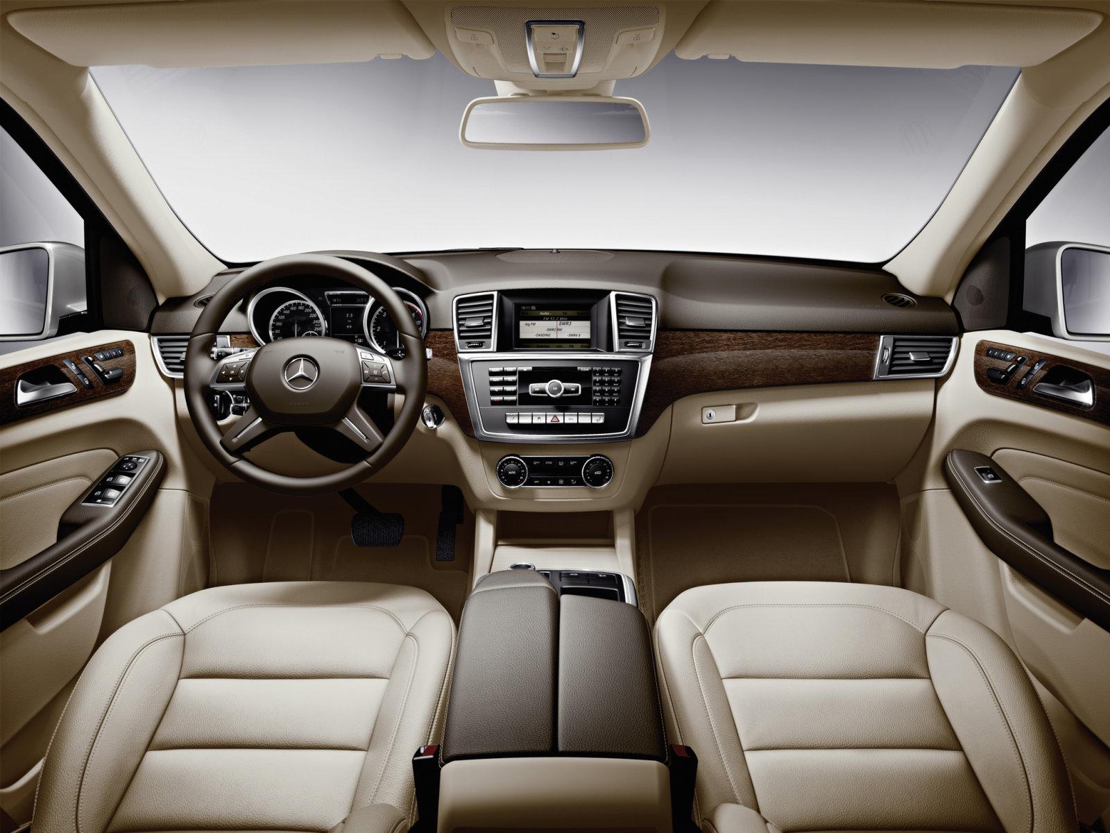 Фотографии автомобилей Mercedes ML-Class / Мерседес ML-Класс (2011 - 2015)