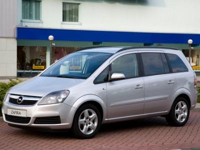 Фотографии Opel Zafira / Опель Зафира 2006 - 2008