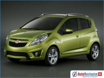 Новый Chevrolet Spark в Минске.