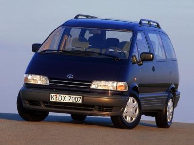 ... Toyota Previa / Тойота Превиа (1990 - 2000) Минивэн