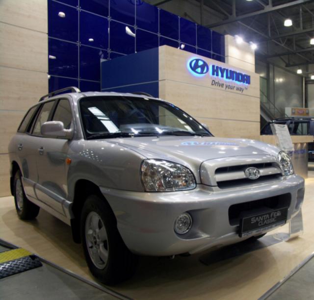 Hyundai santa fe тагаз фото