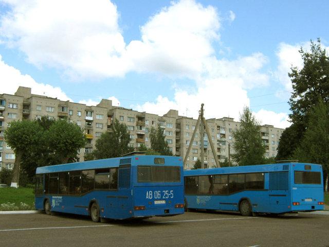 7 августа 2009 г., пятница Автор.  Дзержинск, Автостанция, маршрут 4.
