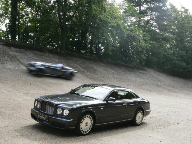 Bentley Brooklands Coupe.