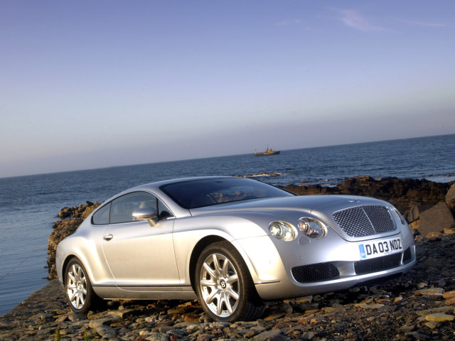 2003 Bentley Continental GT.